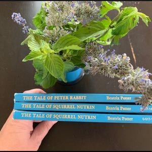 Beatrix Potter Vintage Book Set of Peter Rabbit